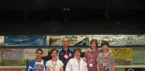 Pro Patria Judo Uniontex pioggia di medaglie