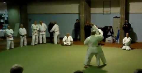 Koshiki No Kata Seminario alti gradi gennaio 2012