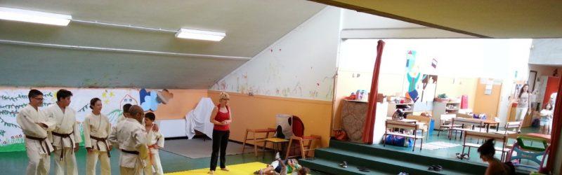 Judo e Judo Giocando (Movi-Mente) alla scuola materna Collodi di Busto Arsizio