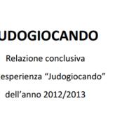 Relazione conclusiva JudoGiocando 2012-2013