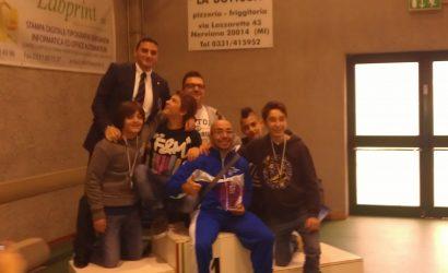27 Ottobre 2013 Trofeo Nerviano 2° classificati