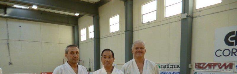 Stage Invernale con Kashiwasaki Katsuhiro 8° dan