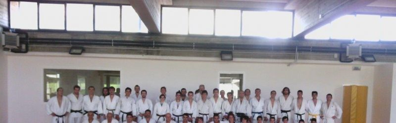 Inizia la stagione con il grande judo AISE allenamento Yudanshakai