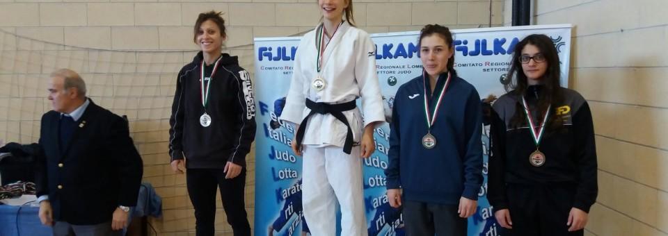 15 Gennaio Campionati Regionali Assoluti 2017 Oro per Francesca D'Orazio
