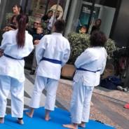 Sport in Piazza 16 Settembre -JUDO presente