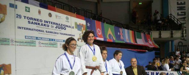 Sankaku 2018 Bergamo Oro e due Bronzi
