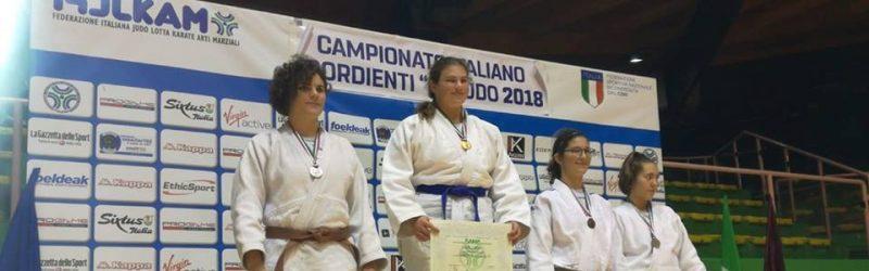 Campionati Italiani 2018 ARGENTO per Angelica Zanesco