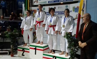 Sankaku Bergamo 2017 Tris di medaglie