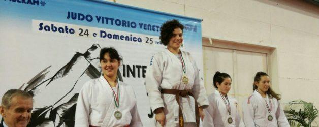 Trofeo Italia 1° tappa Martina Franca Oro per Angelica Zanesco
